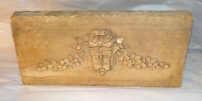 Plaster Mold Antique Architectural Wood