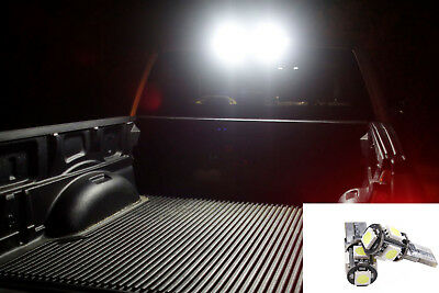 5050 Bright White LED Cargo Bed 3rd Third Light bulbs For Chevy Silverado 2016