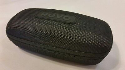 New REVO Sunglasses Case with Zipper + Microfiber Pouch