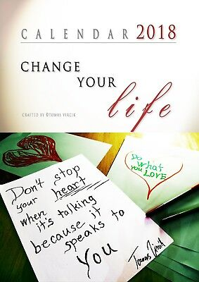 Calendar 2018 Change Your Life - WAS 24.99
