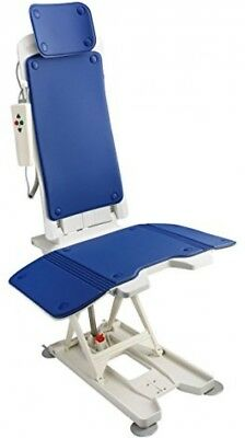 Bath Tub Lift Chair Battery Power Padded Seat Back Rest Mobility Aid Water Proof