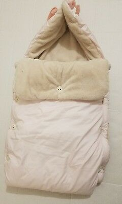 Bunting Bag FUR Stroller SleepSack BLANKET Footmuff INFANT LES BONBONS CANZITEX