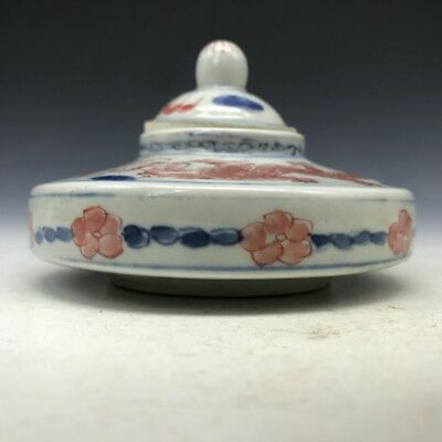 Chinese colored glaze pot pure hand-painted dragon pattern of the great qing kan