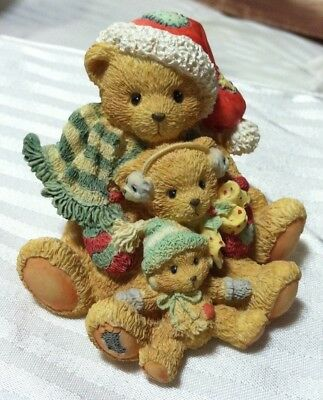 """Cherished Teddies: Theodore, Samantha and Tyler, """"Friends Come In All Sizes"""""""