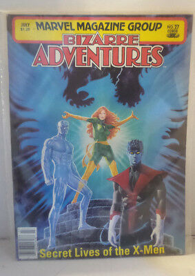 Marvel Magazine Group, Bizarre Adventures #27 1981 Secret Lives of the X-Men