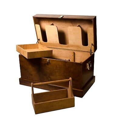 Horse Fare Products Classic Large Wood Tack Trunk