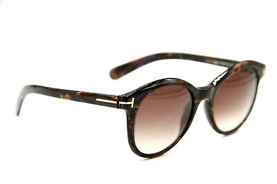 898949a4fac4d New Tom Ford Tf 298 50F Riley Havana Authentic Gradient Sunglasses 51-19 W