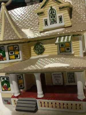 Dept 56 Snow Village- The Doctor's House- B48