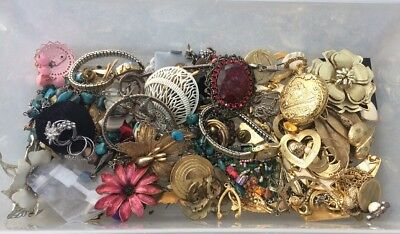 Huge Lot Of Jewelry Watches Vintage To Now Jewelry Making