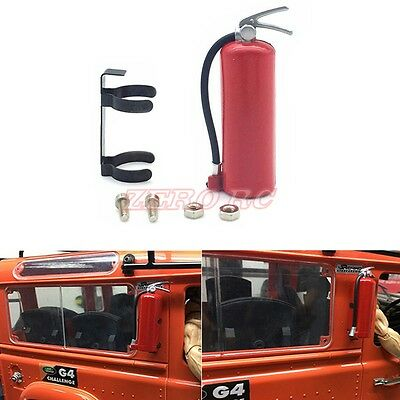 1/10 Rock Truck Scale Accessory Fire Extinguisher For Axial Wraith TRX-4