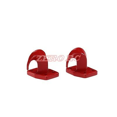 RC 1/10 Rock Truck Scale Accessory Alloy Tow Hooks For Axial SCX10 TRX-4 D90