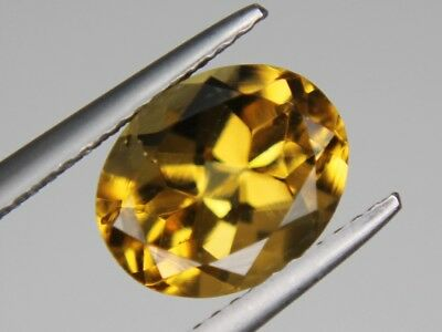 Citrine Oval Natural Untreated Loose Gemstone VVS 10x8mm 2.48ct