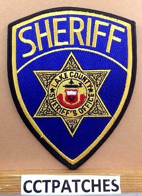 Lake County, Colorado Sheriff (Police) Shoulder Patch Co