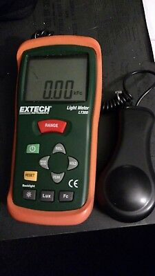 Extech LT300 Precision Digital Light Meter With Large LCD Display