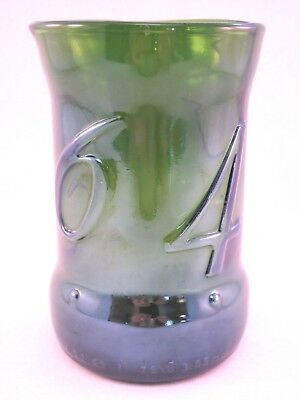 YAVA Glass - RARE Vintage Collectible KRONENBOURG 1664 Bottle Glass