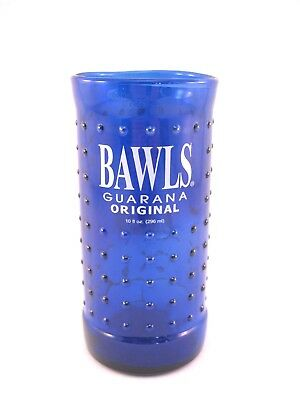 YAVA Glass - Upcycled Collectible BAWLS Guarana Soda Bottle Glass