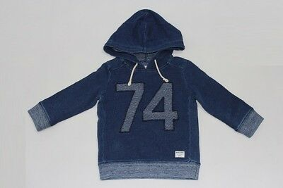 Brand New Country Road Boys Indigo Sweat Hoodie Jumper Top Size 2.3.8 Rrp$59.95