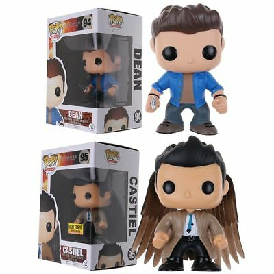 Funko Pop Supernatural Dean Castiel With Wings Exclusive Vinyl Figure Toy Gift