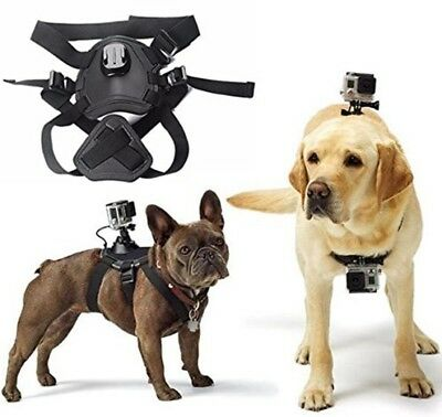 Adjustable Fetch Harness Dog Chest Strap Belt Mount for Gopro Hero 4/3+/3/2/1 Sj