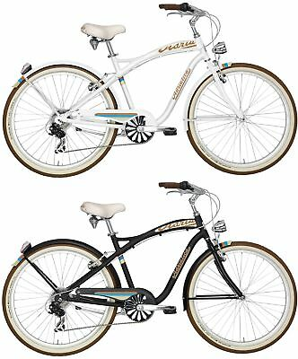 26 zoll alu beachcruiser herrenfahrrad chrisson sando 6g shimano schwarz gold eur 239 90. Black Bedroom Furniture Sets. Home Design Ideas