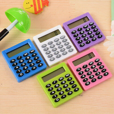 Protable Pocket Student Mini Electronic Calculator School Office Supplies New UK