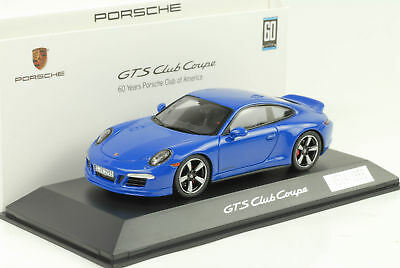 2015 Porsche 911 991 Carrera GTS CLUB COUPE 60 Years America 1:43 Spark Museum