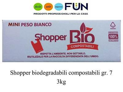 Shopper Biodegradabili Compostabili 3Kg Mini