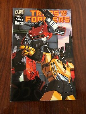 Transformers : Dreamwave Generation 1 - Vol 1 - Issue #4 - July 2002