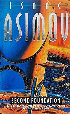 SECOND FOUNDATION By Isaac Asimov *Excellent Condition*