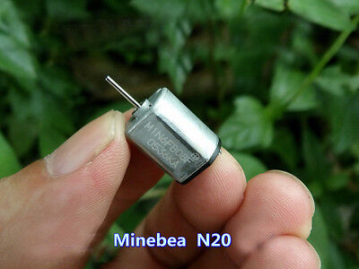 Mini N20 Motor DC 6V-12V 33500RPM High Speed Metal Brush Motor DIY Toy 12*15mm