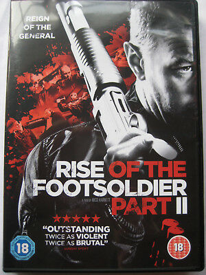 Rise of the Footsoldier Part 2 (DVD, 2015) Sequel NEW SEALED Region 2 PAL