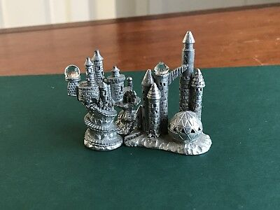Spoontiques Lot Of 3 Castles ~ Mint
