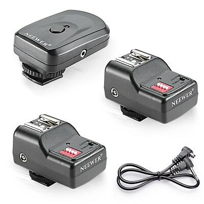 Wireless Remote Flash Trigger Device 16 Channel Speedlite Radio For Canon Nikon