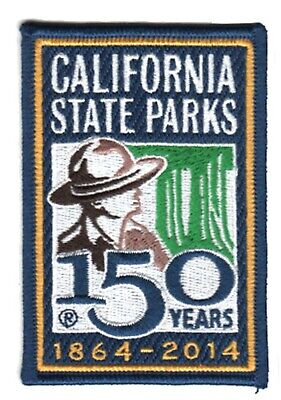 California State Parks Anniversary - 150 years - PATCH
