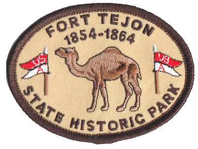 "Fort Tejon State Historic Park - CA State Parks -  3""  Camel Patch"