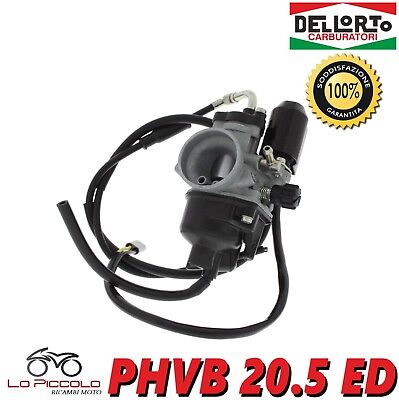 R1176 Carburatore Dell'orto 20,5 Phvb Ed Piaggio Hexagon Gilera Runner 180 2T