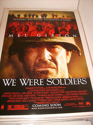 WE WERE SOLDIERS (2002) US AUTHENTIC ORIGINAL 27x40 DS MOVIE POSTER (468)