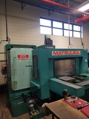Matsuura MC-600H-45 Horizontal Machining Center