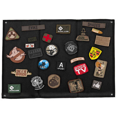 OneTigris Tactical Military Patch Holder Board Hook & Loop Patch Panel