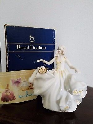 "Royal Doulton Sweet Seventeen Figurine HN 2734 7 3/4""tall"