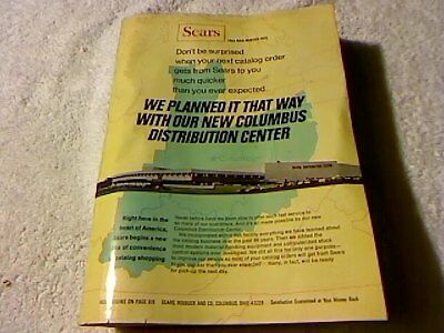 Rare Original Sears Fall And Winter 1972 Catalog 1126 Page  Booklet Collectors
