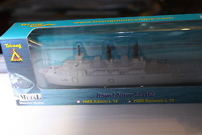 HMS BULWARK Assault ship L15  Boxed R Navy Triang Minic Ships