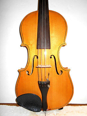Vintage Old Antique 2 Pc.Back Full Size Violin - No Reserve