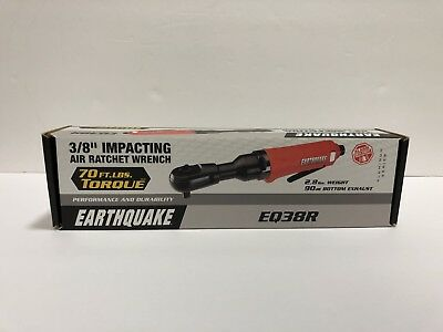"Earthquake EQ38R 3/8"" Impact Air Ratchet Wrench (12358-4BJ)"
