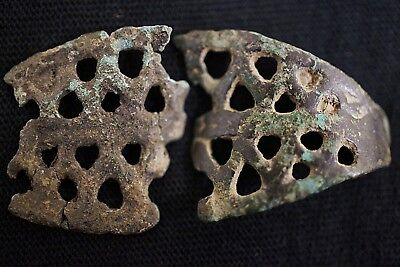 Ancient Viking Bronze Finger Ring, circa 950-1000 AD. Damaged Norse Relic.
