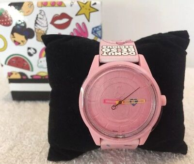 NEW Harajuku Lovers Gwen Stefani Pink Donut Watch In Box