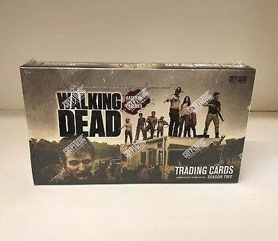 The Walking Dead Season 2 - Sealed Trading Card Hobby Box - Cryptozoic 2012