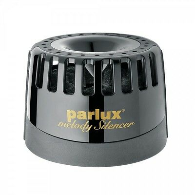 Parlux Black Melody Silencer Hair Dryer Reduces Noise For Parlux Hair Dryers
