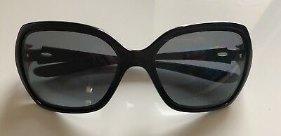 Oakley Women's Overtime OO9167-07 Polarized Sunglasses Black Frame NICE!