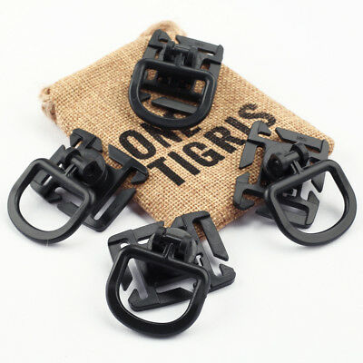 OneTigris Tactical 360 Rotation D-ring Clips MOLLE Webbing Attachment Backpacks